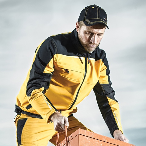 Evolution Workwear branded clothing jackets