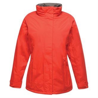 Women's Beauford insulated jacket red