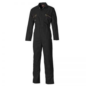 Redhawk zipped coverall black