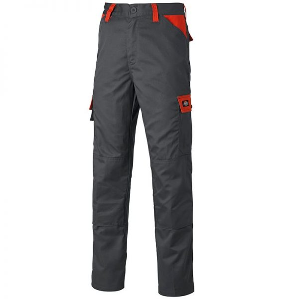 Everyday trousers black/red
