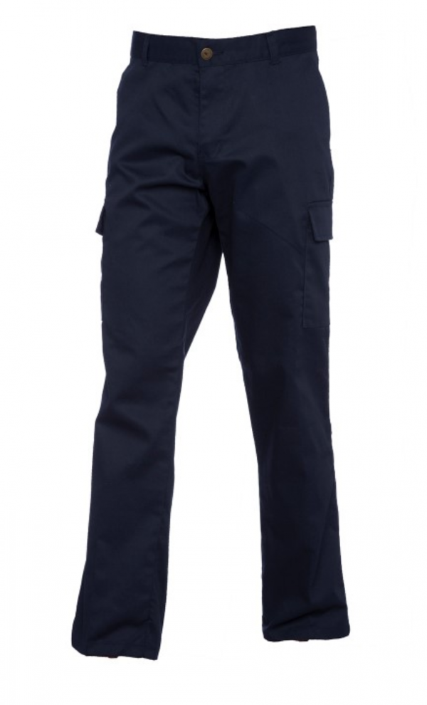 Ladies cargo trousers navy